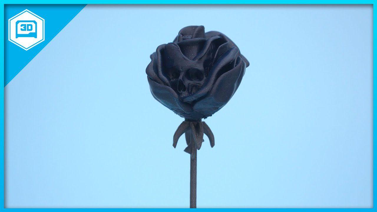 Deadly Rose #3DPrinting #Timelapse @adafruit #adafruit
