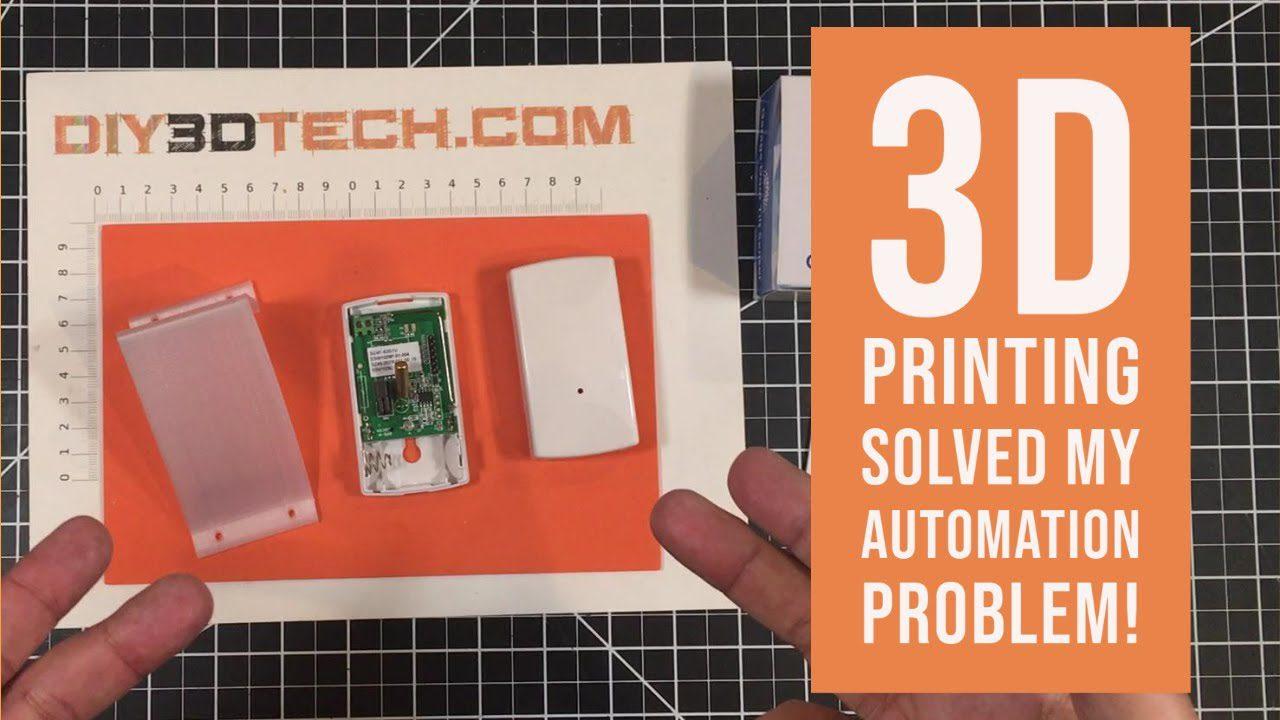 Design Talk   3D Printing Solves Home Automation Problem!
