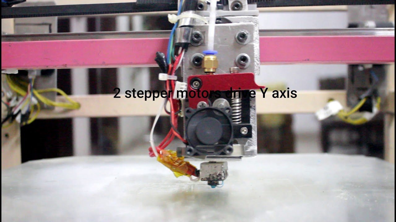 DIY Core xy modified 3d printer part1