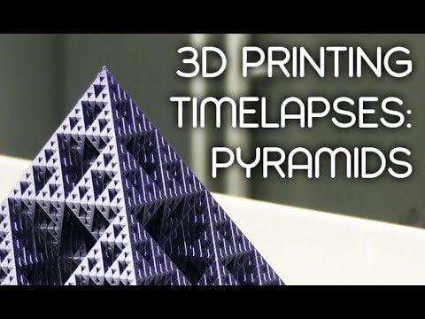 Pyramids – Ep. 6 – Incredible 3D Printing Timelapses