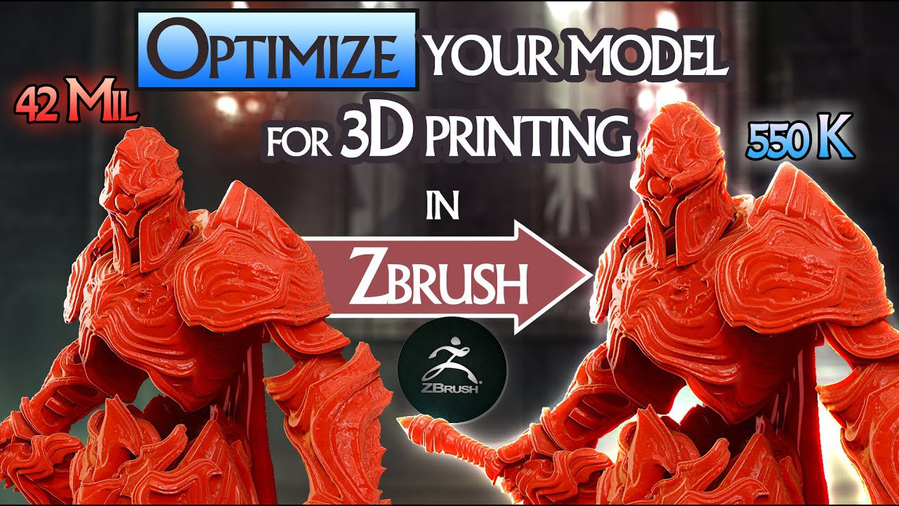 How to optimize your model for 3D printing