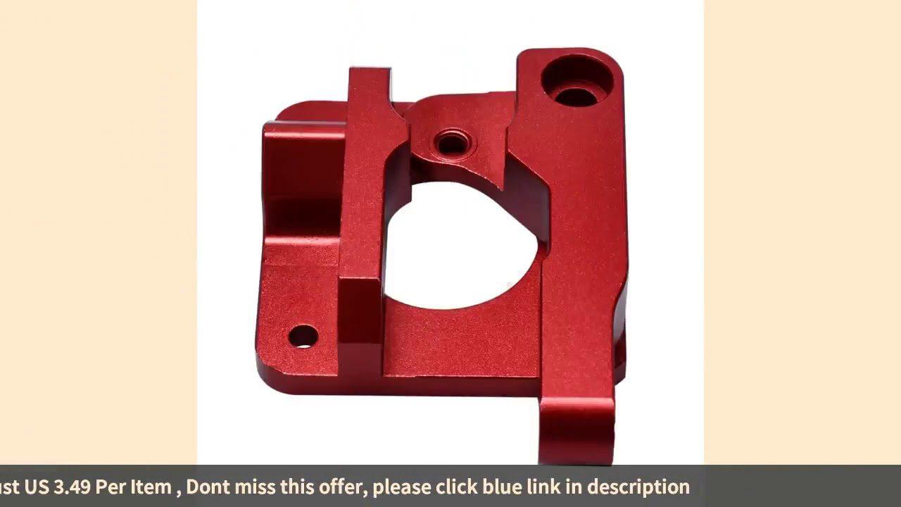 3d Printer Parts Mk8 Extruder Upgrade Aluminum Block Bowden Extruder 1