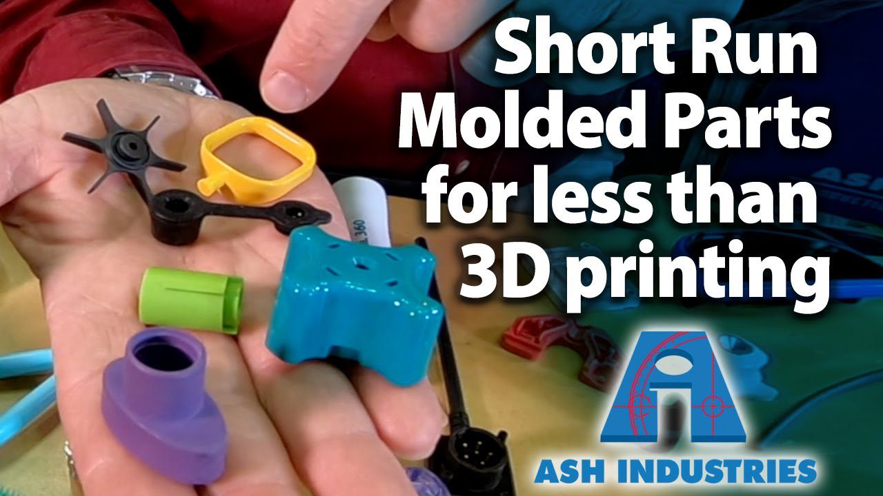 Low volume injection molded plastic parts instead of 3D printing – ASH Supermold
