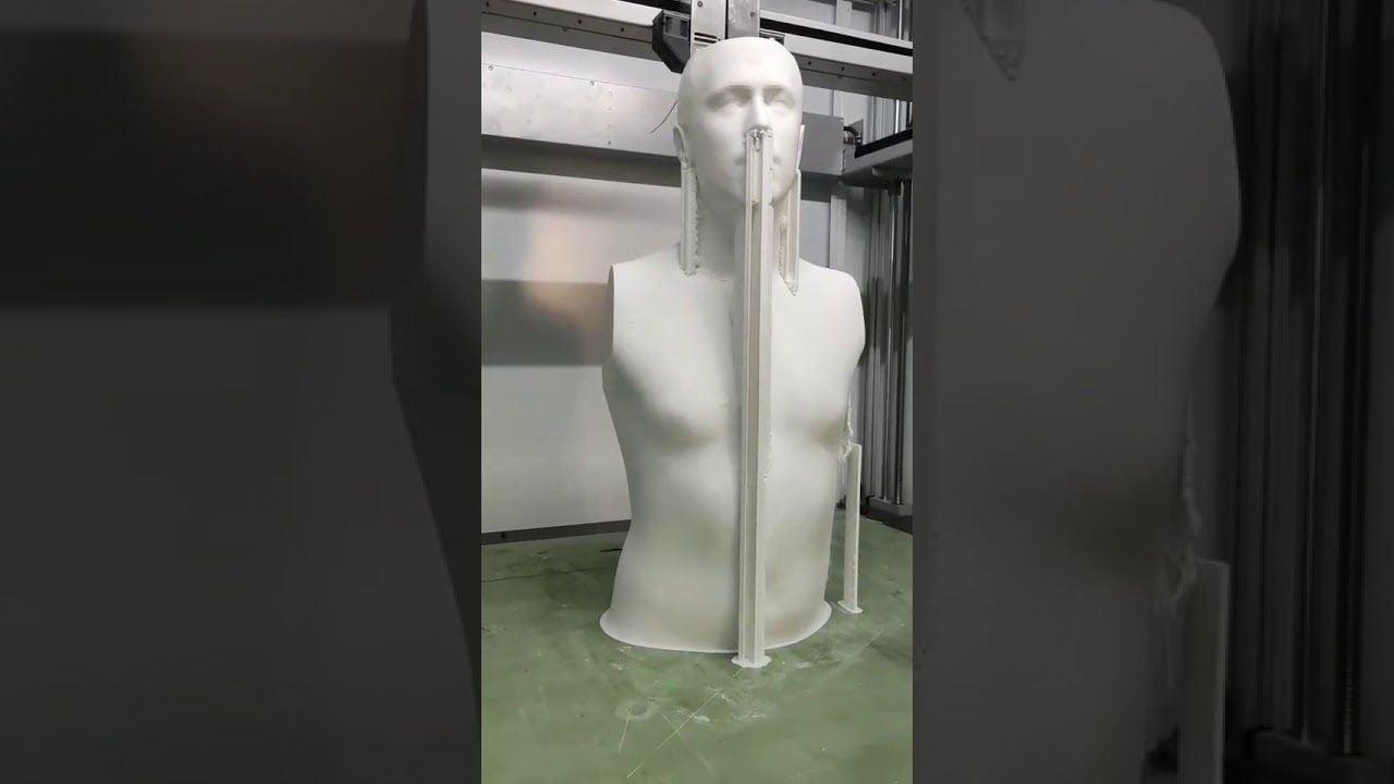 1m large FDM 3D Printing