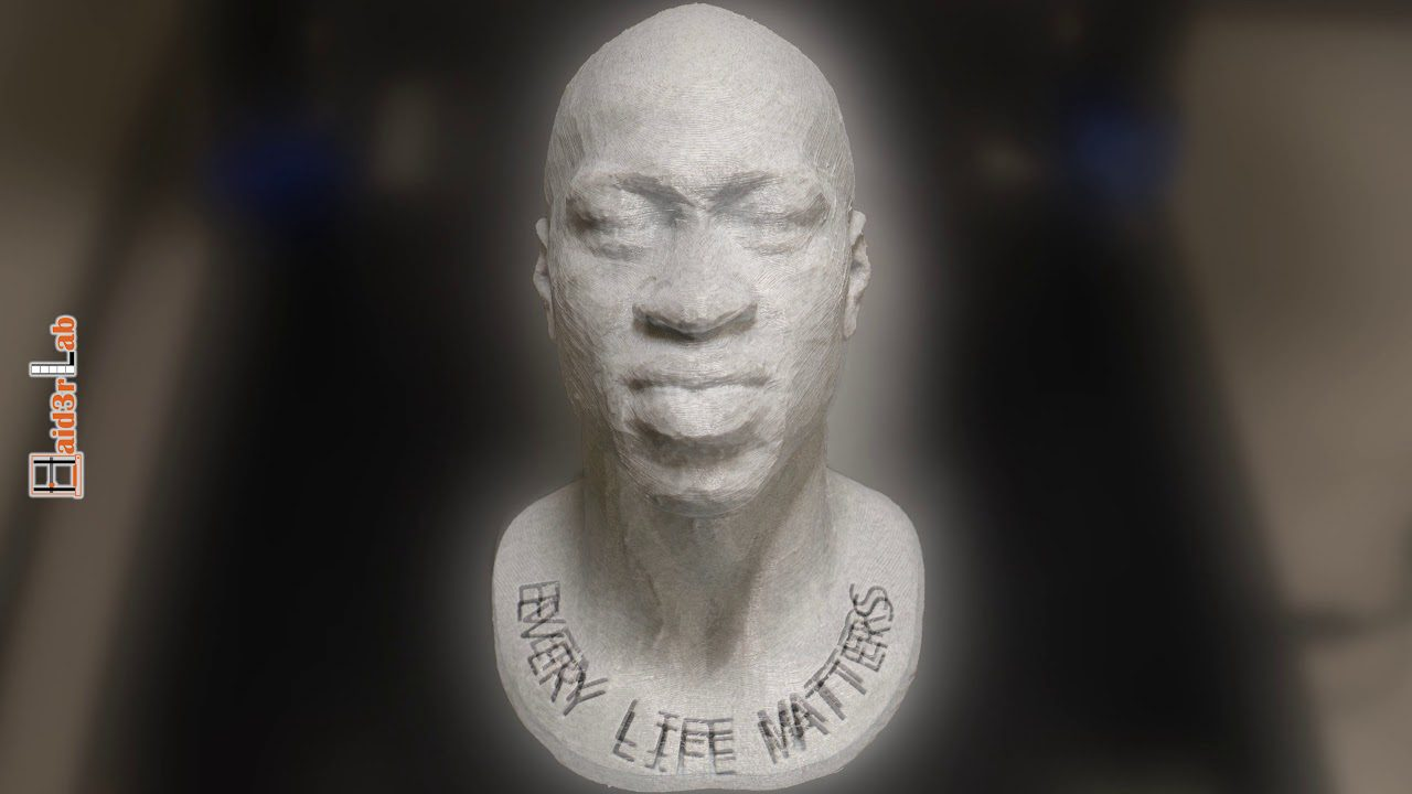 Remembering George Floyd | Black Lives Matters | Every Life Matters | 3d Printing Timelapse