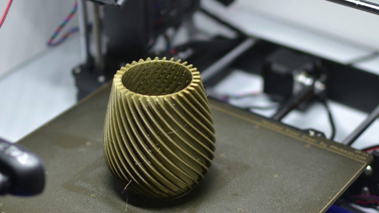 Satisfying 3D Printing Using Nikon D3100 – Vase