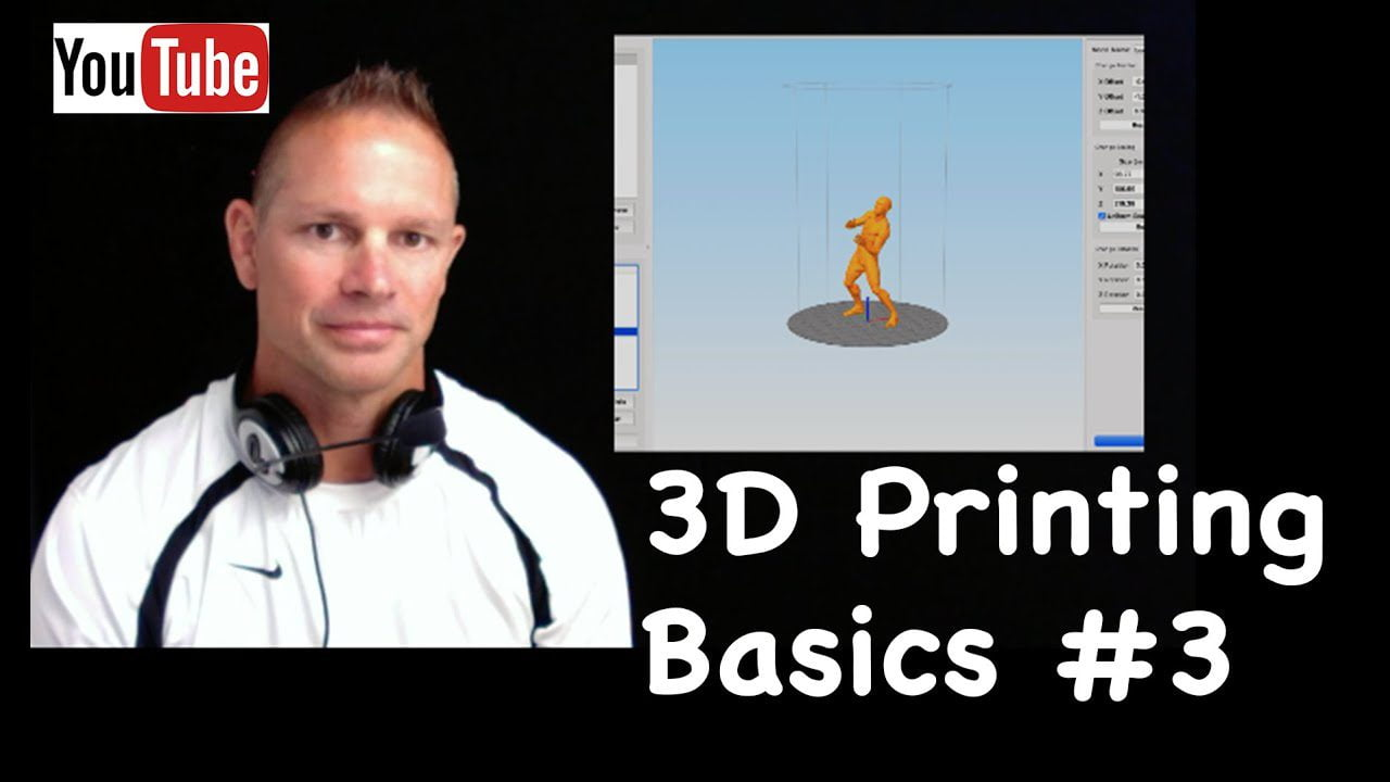 3D Printing Basics video 3- rigging a character for dynamic printing 1