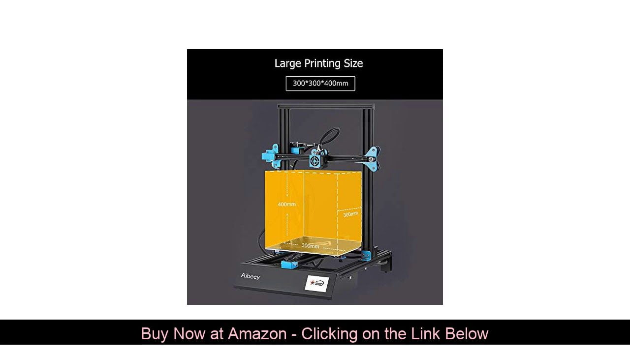 ⚡️ Aibecy M18 Pro Desktop 3D Printer DIY Kit 300300400mm Printing Size Support Automatic Auxiliary