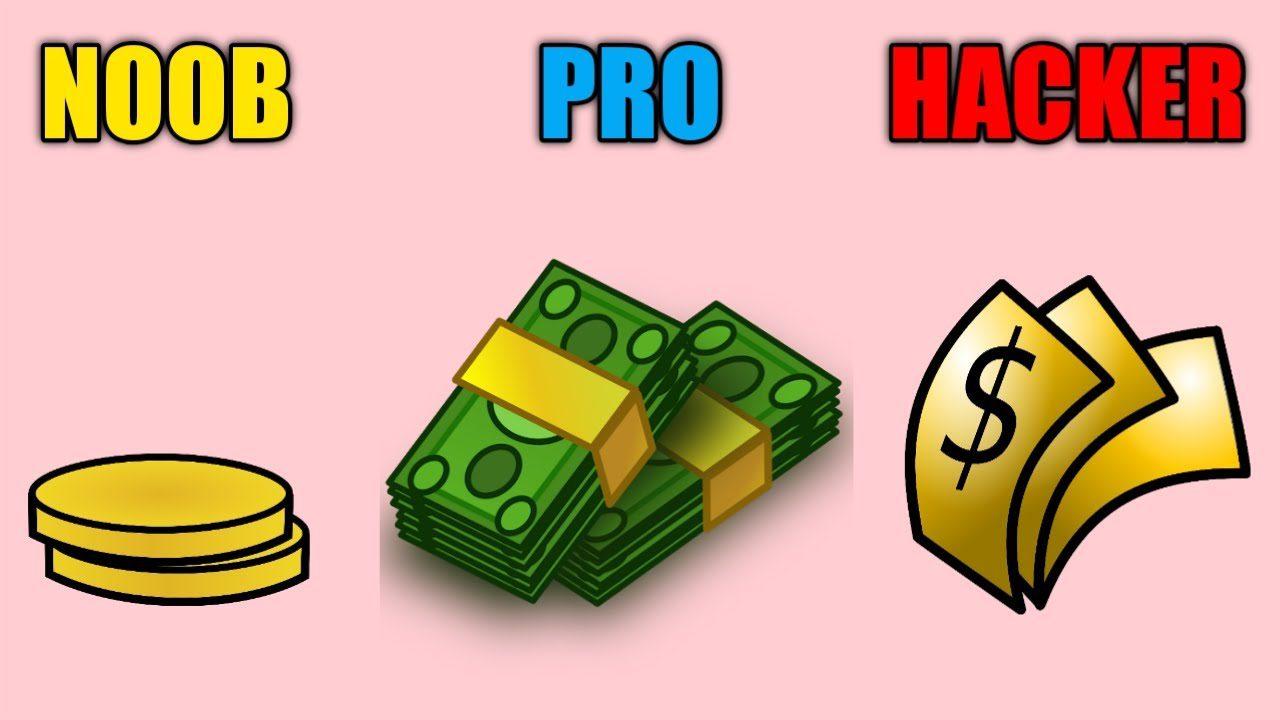 Money Maker 3D – Print Cash – NOOB vs PRO vs HACKER ( Let's Create A Cash Printing Empire ! )